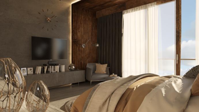 Tư vấn thiết kế căn hộ rộng 88m² theo phong cách Rustic hiện đại cho gia đình ở Hoàng Mai, chi phí tiết kiệm chỉ 118 triệu đồng - Ảnh 7.